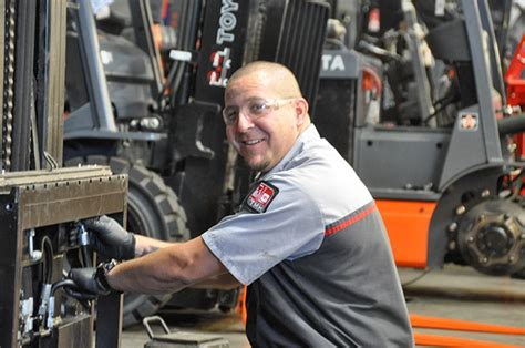 Forklift Technician by Toyota Forklift