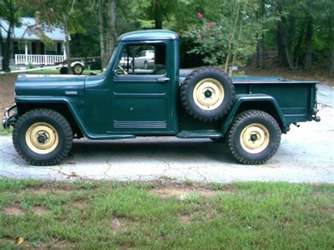 willys jeep pickup for sale 1949 truck walhalla sc sold ewillys