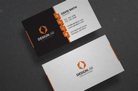 modern business card template business card templates