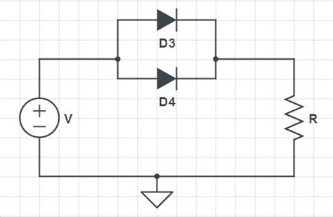 resistor and zener diode in parallel transistors and diodes diodes in parallel