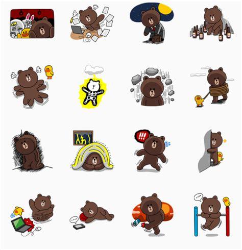 theme line brown special สต กเกอร line แจกฟร ประจำว น ช ด quot brown special edition