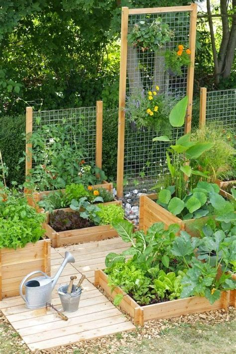 10 Ways To Style Your Home Vegetable Garden Homedit Home Vegetable Gardens