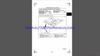 ford escape  wsm repair manual auto repair manual forum heavy equipment forums