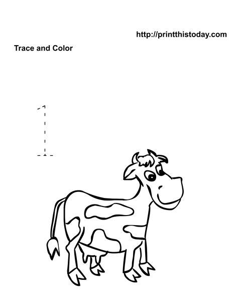 wild animals coloring pages preschool 16 best images of wild animals worksheets for kindergarten