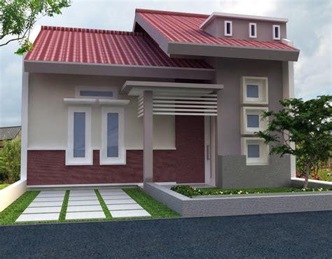 60 gambar rumah minimalis 1 lantai tak depan dan warna cat pilihan desainrumahnya