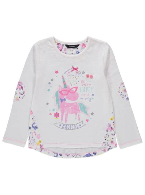 tattoo cream asda unicorn print top kid t shirts and shirts