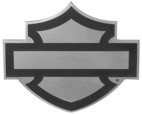 Harley Davidson Shield by Harley Davidson Motorcycles Bar And Shield Hitch Cover For