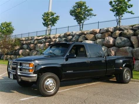 car engine manuals 1997 chevrolet g series 3500 electronic toll collection buy used 1997 chevrolet pick up truck 4x4 dually 3500 series in rosemount minnesota united