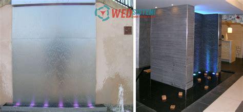 giochi d acqua per interni fontane per interni le pareti d acqua wed sistemi srl