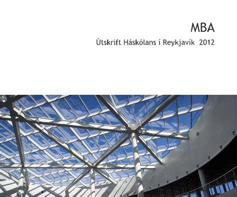 Mba Reykjavik by Mba By Foto Grafika Education Blurb Books
