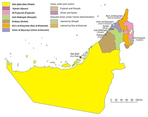 map of the united arab emirates file uae en map png