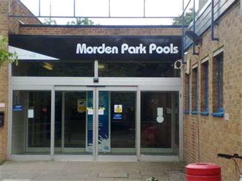 thames college morden morden park pool morden london uk public swimming