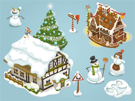 online game christmas items first set design mirkku