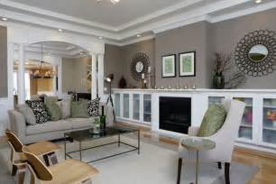 Gray Living Room Walls Maison Newton March 2012