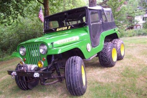 cj jeep for sale six wheel drive jeep 1966 cj 6 6x6