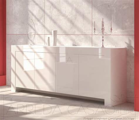 ebay mobili soggiorno madie credenza soggiorno salotto laccato bianco lucido ebay