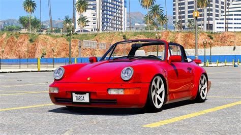 Porsche 964 Cabrio by Porsche 911 964 Targa Cabrio Add On Replace Gta5