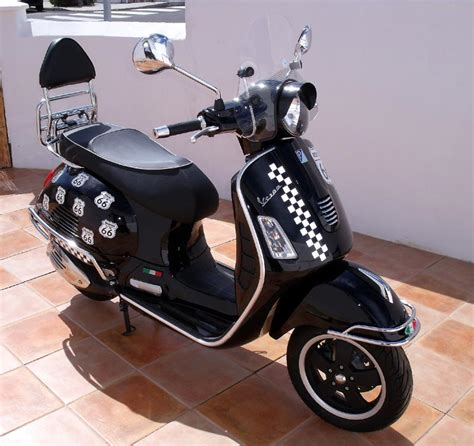 Reflektor New Px By Marvel Vespa modern vespa my quot route 66 quot project completed at last