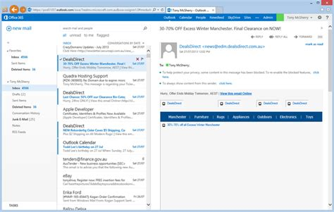 Office 365 Outlook Export Email An Outlook On Office 365 Techrepublic