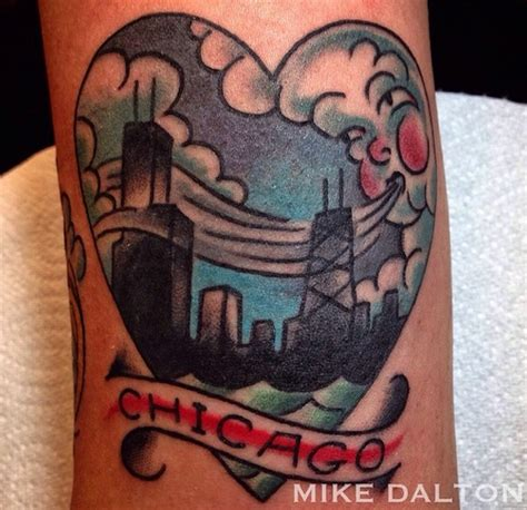 chicago tattoos designs the 5 most chicago designs