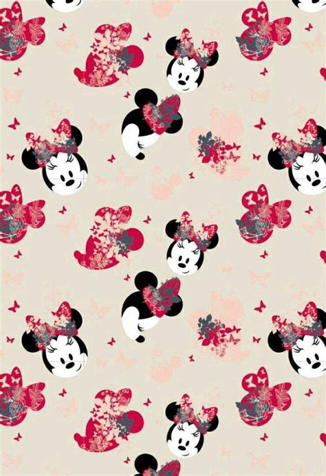 Wallpaper Design Minnie Mouse | this minnie mouse design is so pretty disney wallpapers