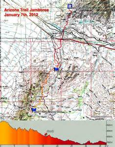 Arizona Map Pdf by Arizona Trail Jamboree