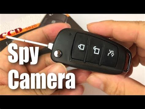 the car key motion detection spy camera in depth review