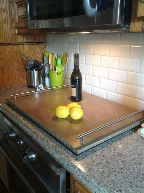 cooktop covers induction cooktop cover wood from lowes cut to fit