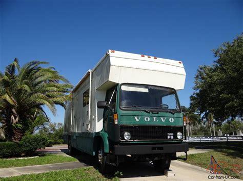 volvo minivan horse van truck volvo f 613 1985
