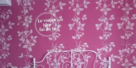 tappezzeria fai da te la parete a stencil effetto tappezzeria cose di casa
