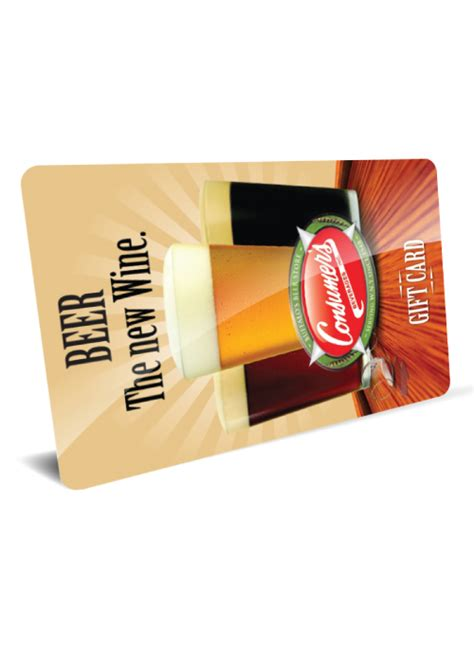 Brewery Gift Cards - gift card beer the new wine consumersbeverages com