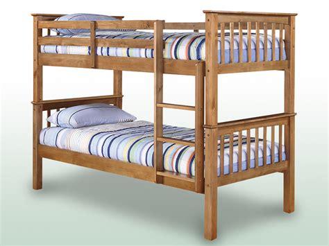 Bunk Bed Frames Lpd Leo Pine Bunk Bed Frame