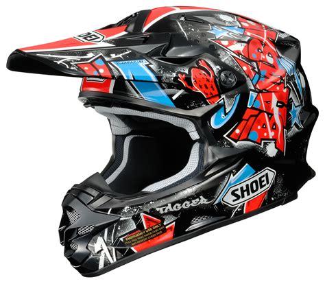closeout motocross helmets shoei vfx w barcia helmet revzilla