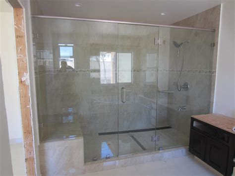 Bathroom Wall Mirror Ideas by Large Shower Enclosure Patriot Glass And Mirror San