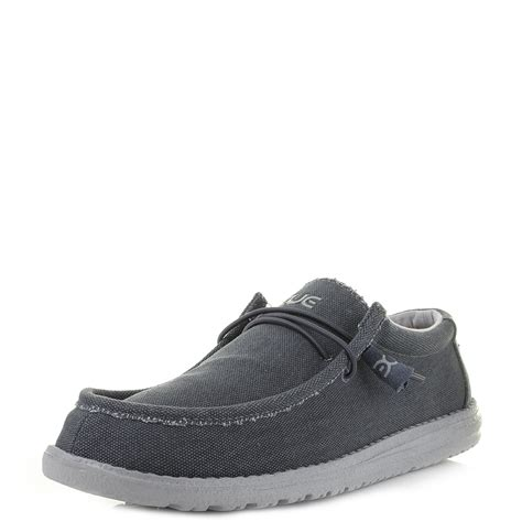 dude shoes mens dude shoes wally canvas oceano canvas loafers shu