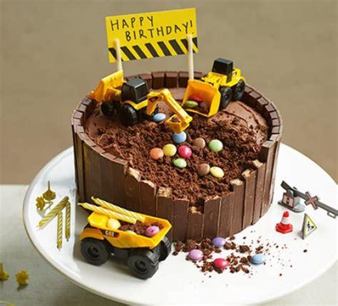 Buku Anak Digger Vehicle Shaped Board Book digger cake recipe food