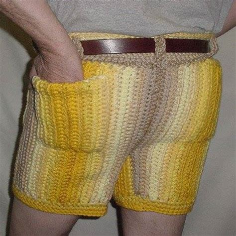 Pattern Crochet Mens Shorts | whose ombre crochet shorts are these also why