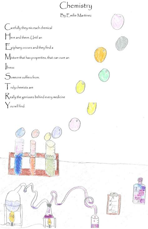 chemistry poems news post