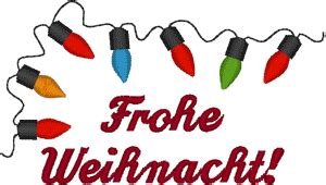 merry christmas  german embroidery design