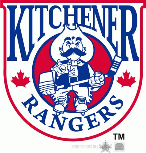Kitchener Rangers by 1992 93 2000 01 Kitchener Rangers Primary Logo Heat