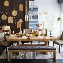 West Elm Dining Table Bench Emmerson Reclaimed Wood Dining Bench West Elm