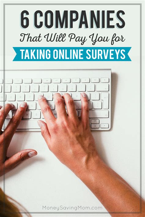 Online Surveys That Pay You - 6 companies that will pay you for taking online surveys davetech blog