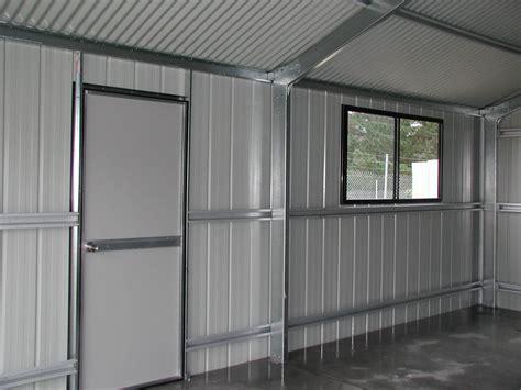 Garage And Workshop Designs access door and window fair dinkum sheds