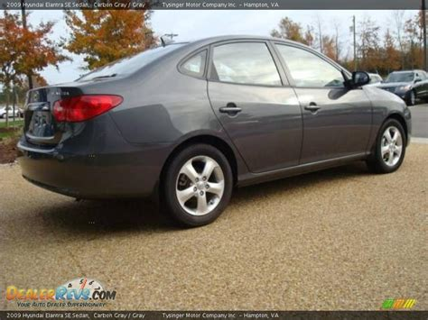 2009 Hyundai Elantra Se by 2009 Hyundai Elantra Se Sedan Carbon Gray Gray Photo 5