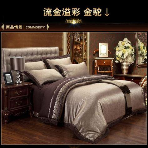 Luxury Bed In A Bag Comforter Sets Luxury Satin Jacquard Bedding Set Sheets Duvet Cover King Size Bedspreads Bed In A Bag
