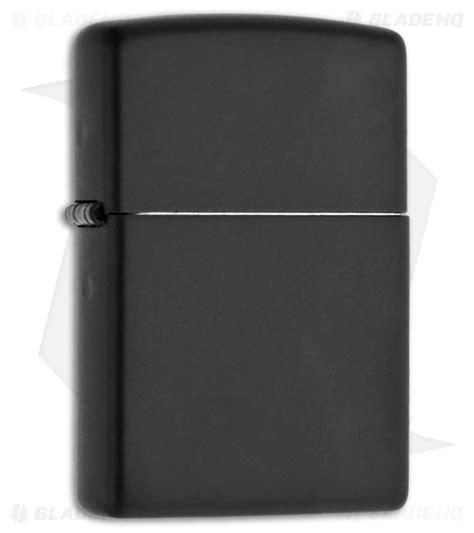 Zippo Lighter Matte zippo lighter regular black matte 218 blade hq