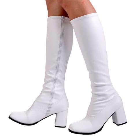 white go go boots funtasma white go go boots gogo 300 911