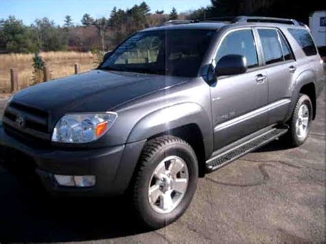 When Did Toyota Start 2005 Toyota 4runner Start Up Engine Review
