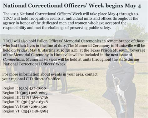 Correctional Officer Week by Criminal Justice Connections