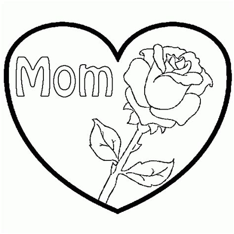 Your Own Drawings Of Roses Roses And Hearts Coloring Pages